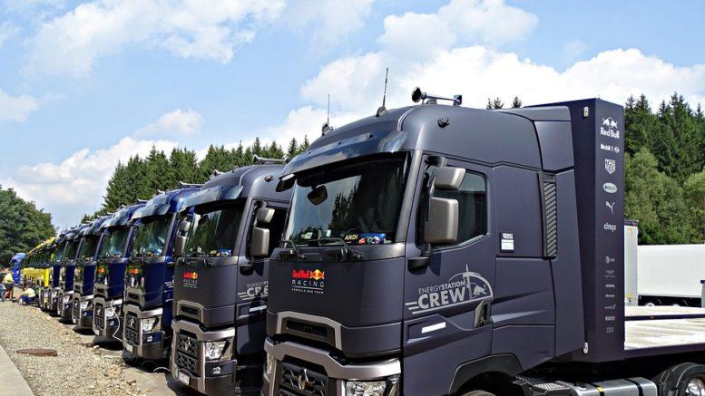 camion tir renault racing