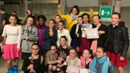 ASC Ballabio danza terzo posto Vighizzolo 2019