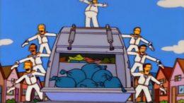 Homer Simpson netturbino TrashoftheTitans