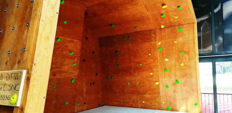 Palestra arrampicata 2