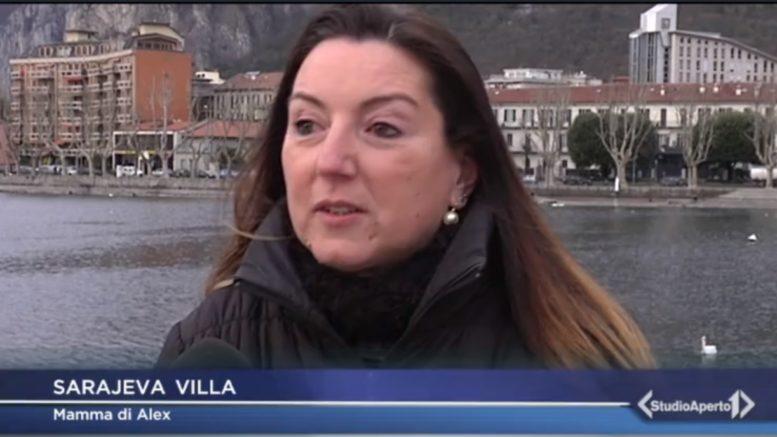 SARA VILLA MAMMA DI ALEX da Studio Aperto