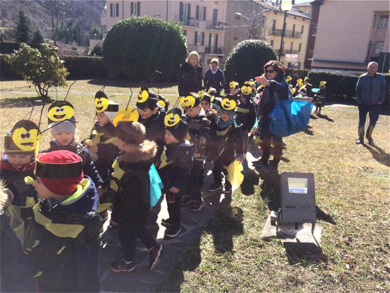 Sfilata api Pianeta Bimbi Carnevale 2019 2