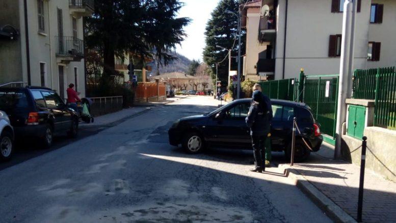 incidente ballabio via mazzini davanti alle poste