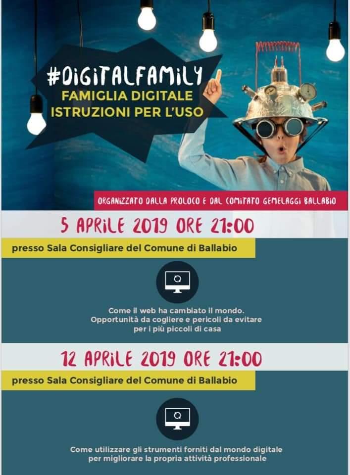 Digital family 2019 volantino