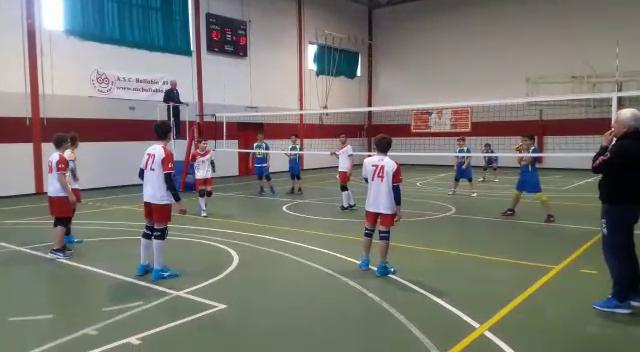 Volley Under 14 ASC Ballabio - Merate 1