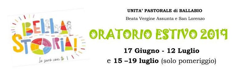 Bella Storia Ballabio 2019