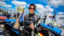 Nicolò Rocca_campione 5 DI NASCAR AUTOMOBILISMO CIRCUITO OVALE CHEVROLET CAMARO