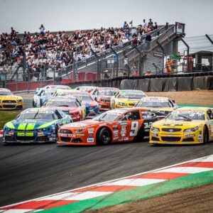 Nicolò Rocca_campione DI NASCAR AUTOMOBILISMO CIRCUITO OVALE CHEVROLET CAMARO