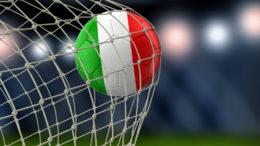 rete palla gol pallone tricolore