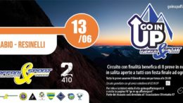 Go in Up Ballabio Resinelli 13 giugno 2019 logo