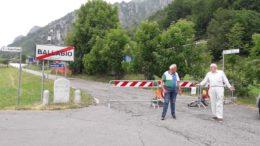 morterone strada chiusa per frana sp63