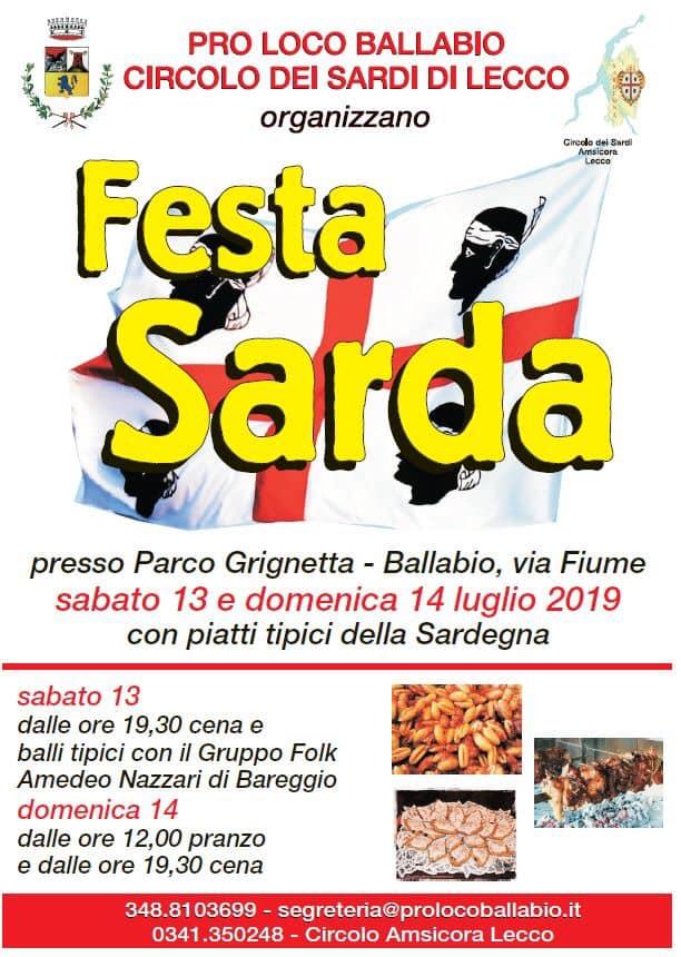 2a Festa Sarda 2019 Ballabio