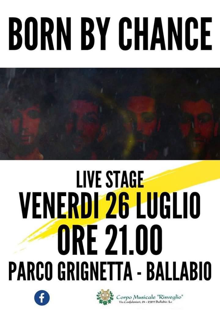Born By Change Banda Risveglio Ballabio