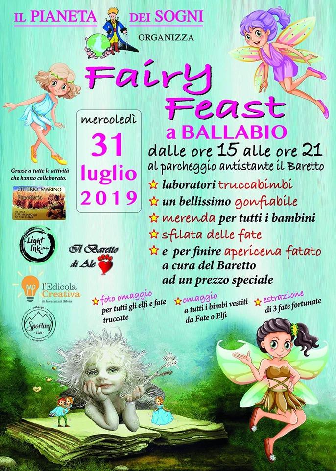 Fairy Ballabio Pianeta dei Sogni 2019