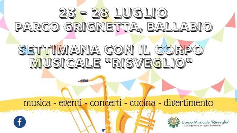 Logo Banda Risveglio Parco Grignetta 2019