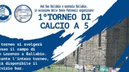 Logo Volantino 1 Torneo 5 contro 5 GSO Ballabio 2019