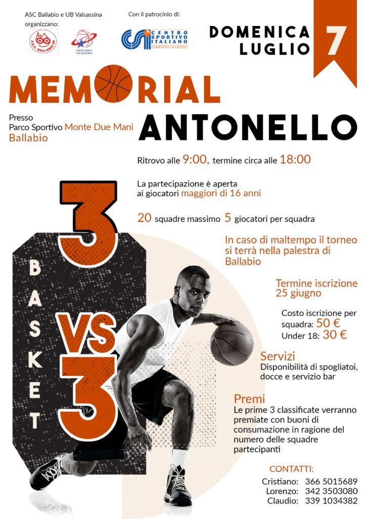 Memorial Antonello 2019