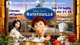 Ratatouille 4 film aperto Ballabio 2019