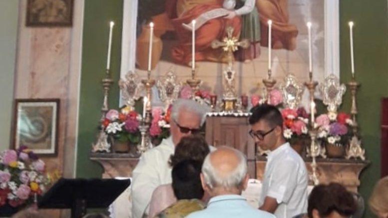 Ritaglio messa Sant'Anna Balisio 2019