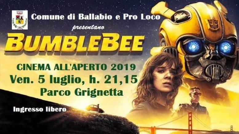 SECONDO CINEMA ALL' APERO ESTATE 2019 BALLABIO
