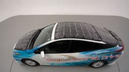 toyota prius phv auto pannelli solari 2
