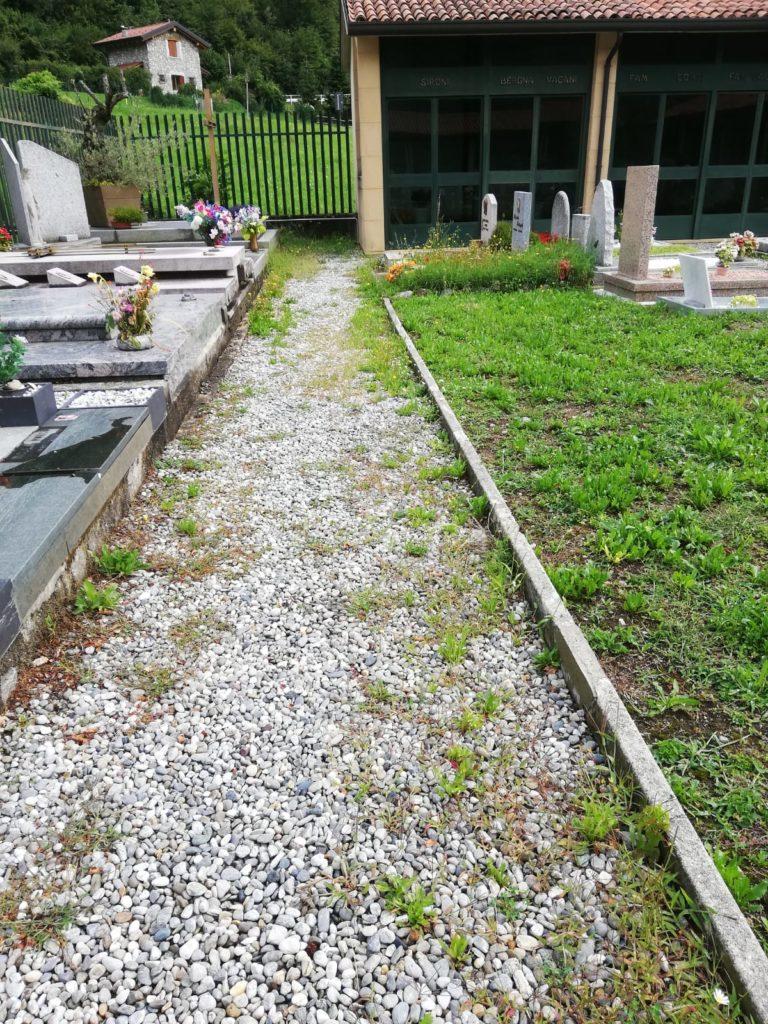 Cimitero Ballabio Inferiore parte nuova 2