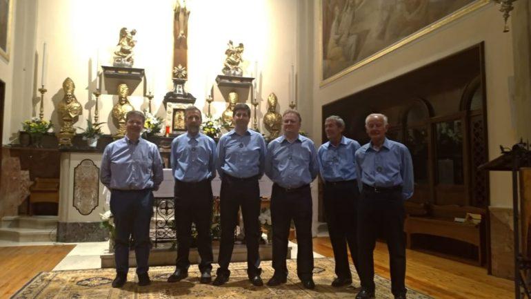 Il gruppo dei fondatori del coro