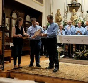 I maestro Franco Zapelli 25 anni 2019 rit