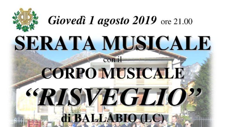 Logo Concerto 1 agosto Banda Risveglio 2019