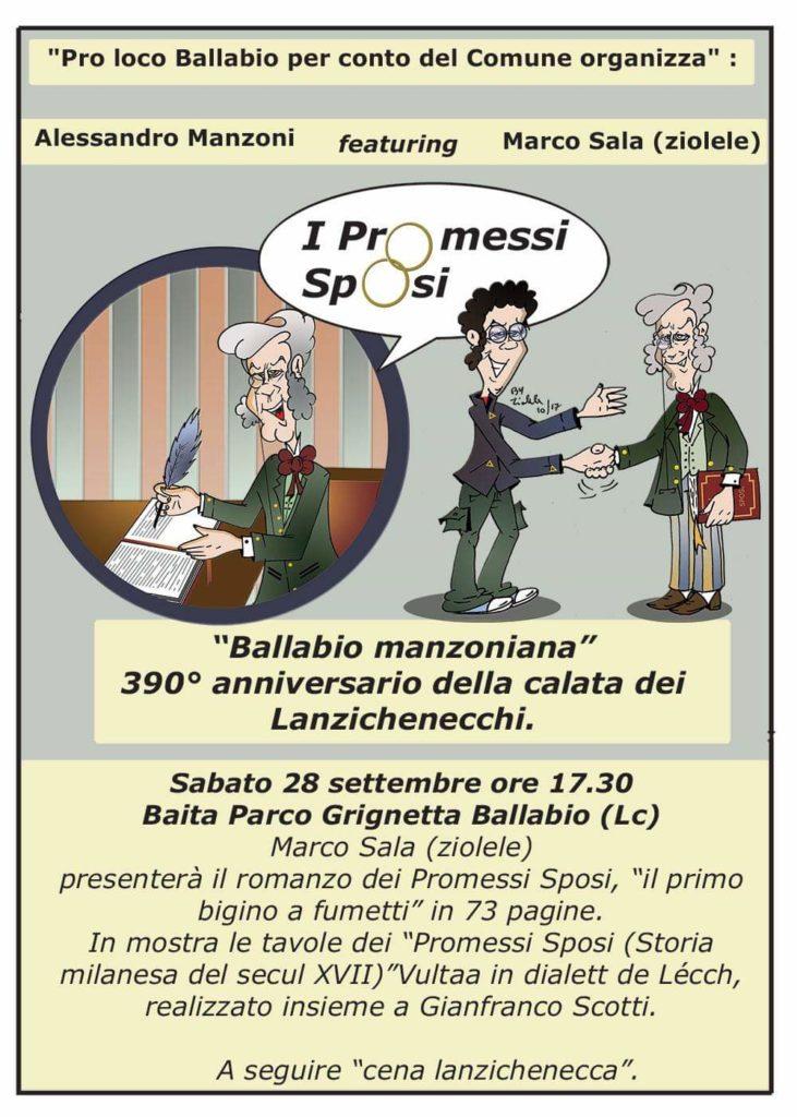 Volantino 1 Ballabio Manzoniana 2019