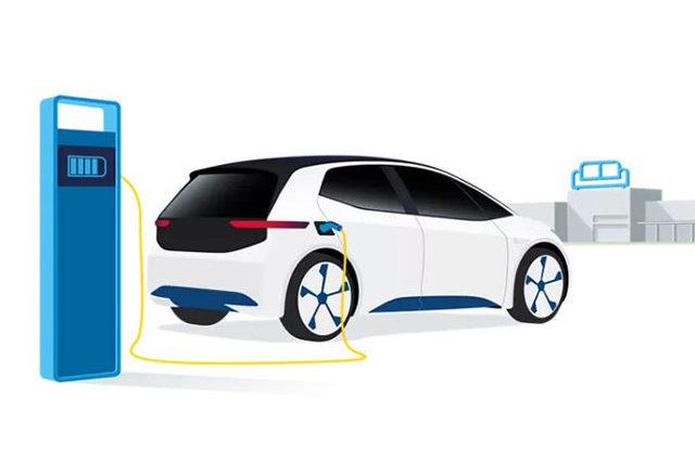 auto elettrica ricarica colonnina