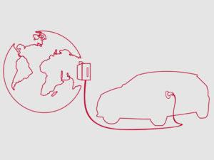 auto elettrica ricarica mondo V2G