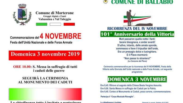 4 Novembre Ballabio e Morterone 2019