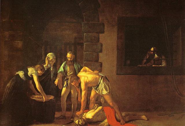 Caravaggio - Decollazione del Battista