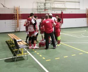 I ragazzi U16 agli ordini del coach Casali
