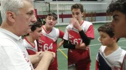 U16 con coach Casali