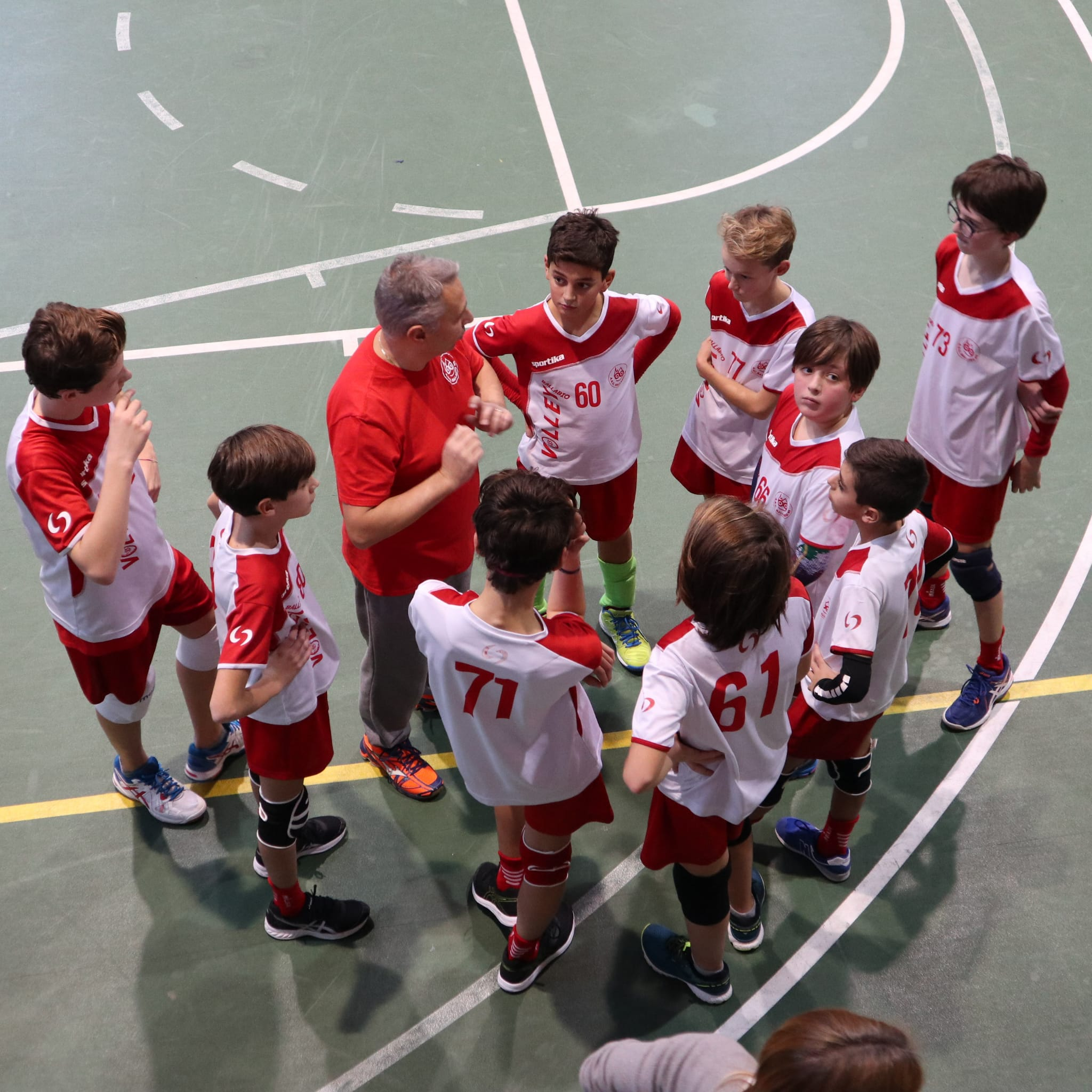 Volley Under 14 con il Coach