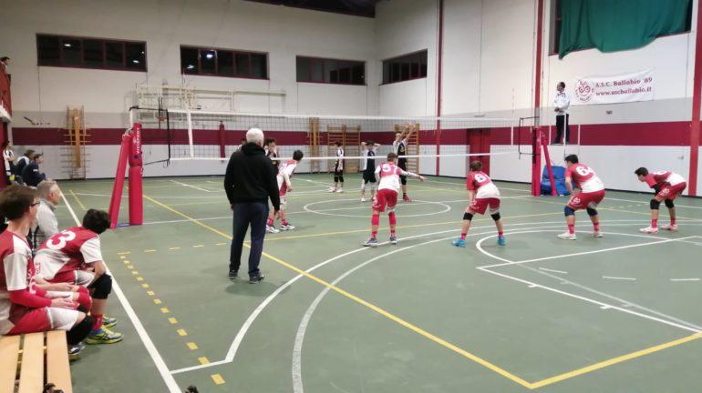 ASC U16 Ballabio - Milano volley 1