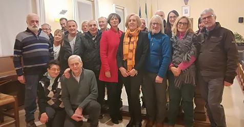 Auguri Natale volontari comunali Consonni 2019