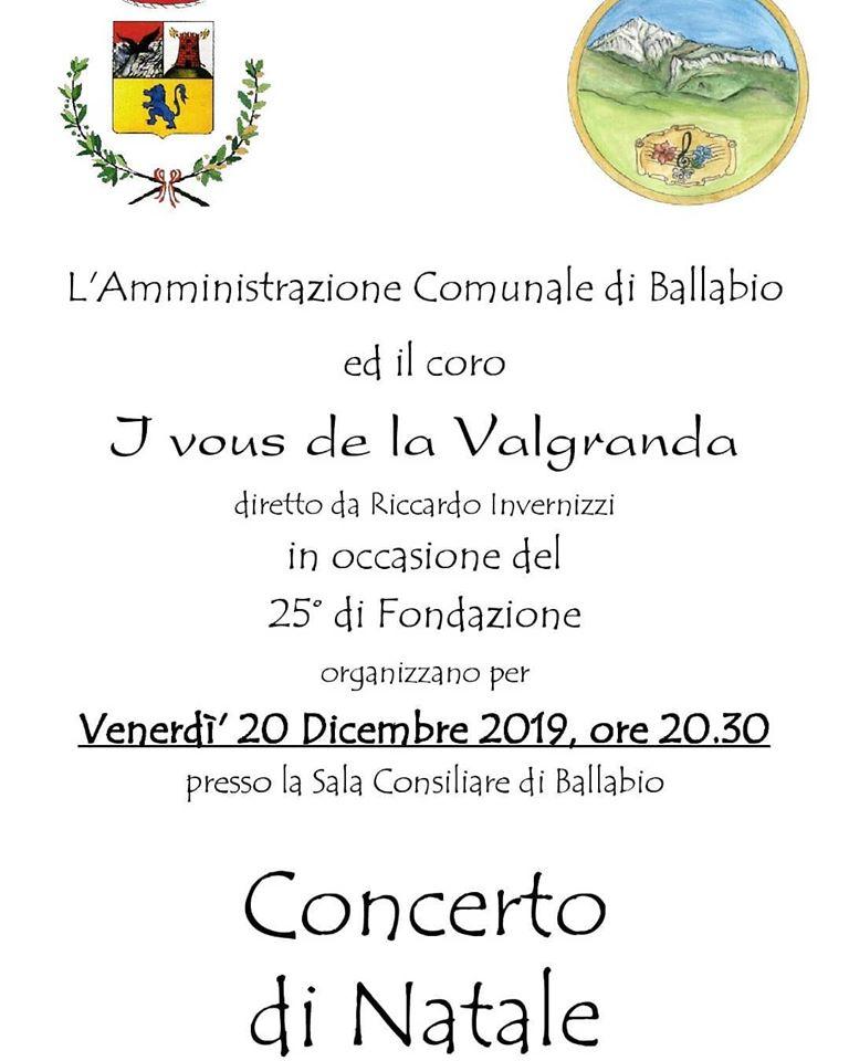 Concerto Coro I Vous de la Valgranda