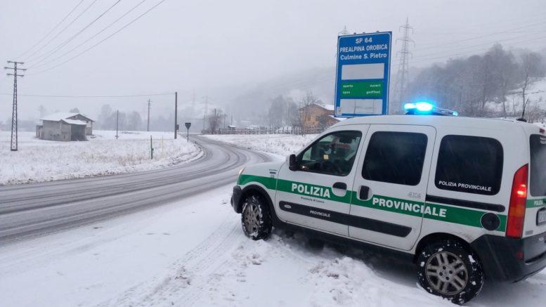 Neve SP64 Polizia Provinciale 13dic19