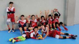 U16 volley Libertas - ASC 1