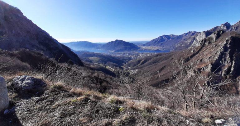 Panorama dalla strada per Morterone 1