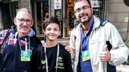 Riccardo Amati con Giordano Azzimonti e Matteo Morotti