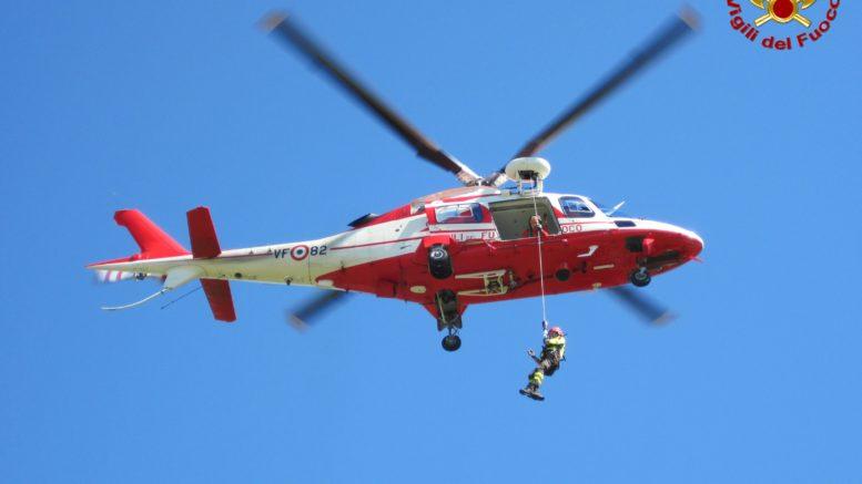 elicottero drago pompieri vigili del fuoco