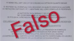 Fake news seconde case volantino