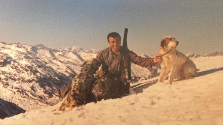 Alberto Scaioli a caccia