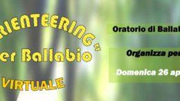 Orienteering per Ballabio virtuale 26 aprile 2020 (2)