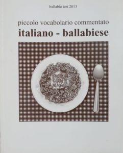 copertina piccolo vocabolario ballabiese