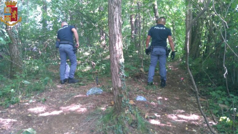 droga boschi polizia mobile